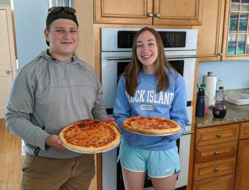 Two Haddam Teens Help Feed Middletown Families During Pandemic